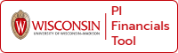 Wisconsin PI financial tools button